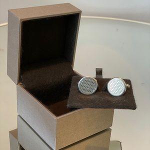 Christofle sterling silver cufflinks